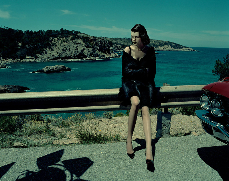 Antonia Wesseloh by Jacques Olivar for Marie Claire Italia October 2013