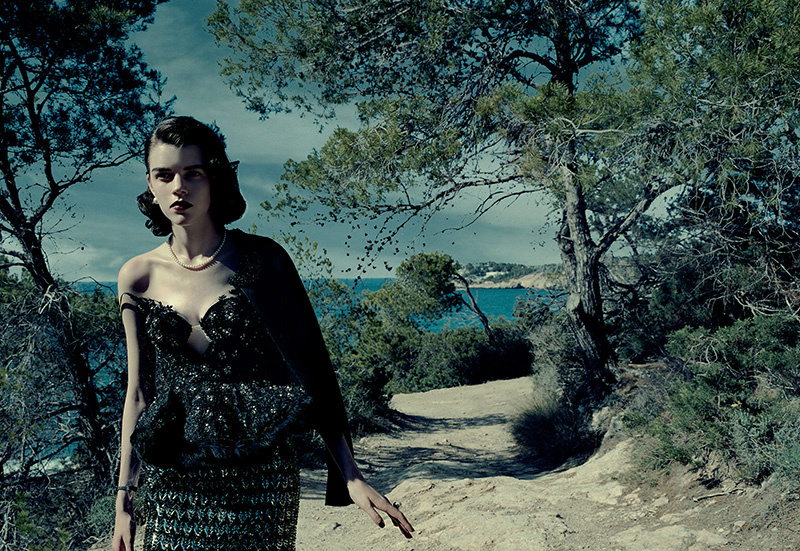 Photo Antonia Wesseloh by Jacques Olivar for Marie Claire Italia October 2013