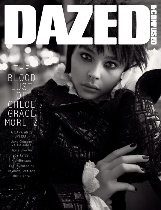 Photo Chloe Grace Moretz by Glen Luchford for Dazed & Confused November 2013