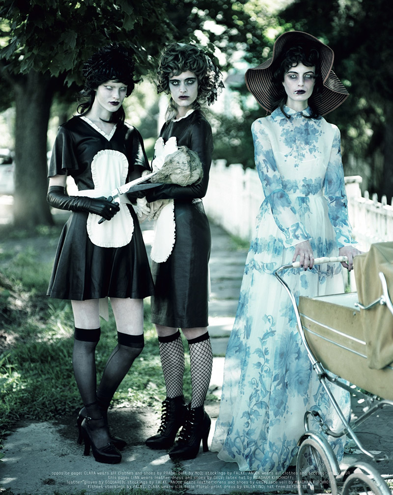 Photo Disturbia by Jeff Bark for Dazed & Confused November 2013