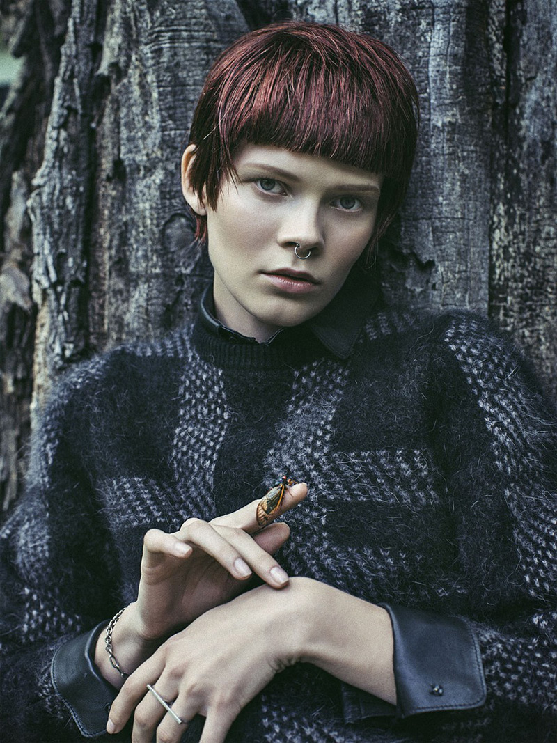 Photo Irina Kravchenko by Sebastian Kim for Vogue Ukraine October 2013