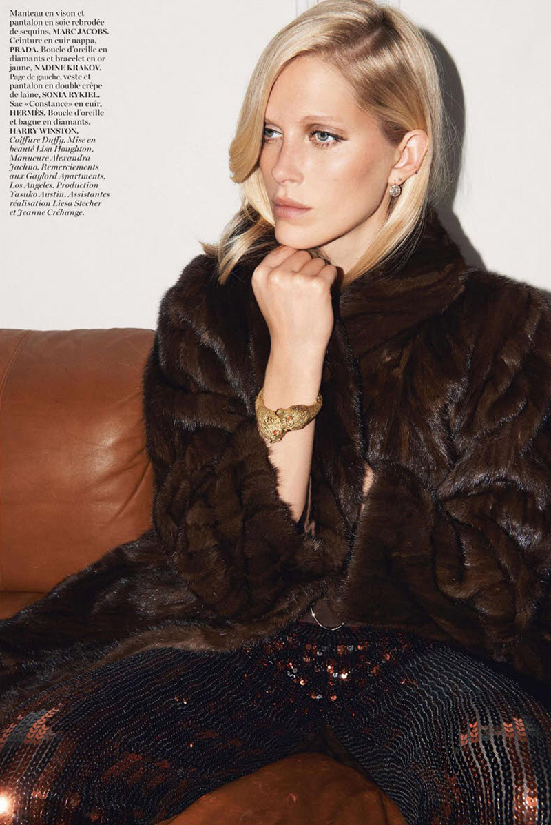 Photo Iselin Steiro by Glen Luchford for Vogue Paris November 2013