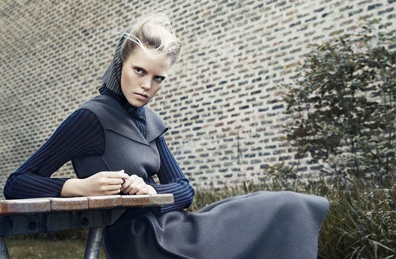 Photo Josefien Rodermans by Andreas Ohlund for Elle Sweden November 2013