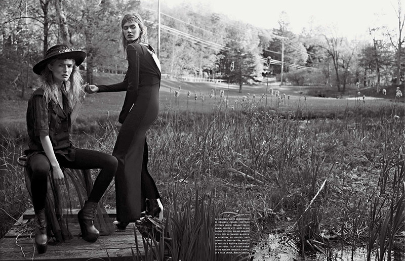 Photo Josephine, Manuela & Tess for Vogue Italia October 2013
