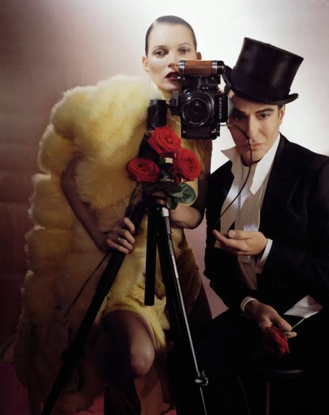 Photo Preview: Kate Moss & John Galliano by Tim Walker for Vogue UK December 2013
