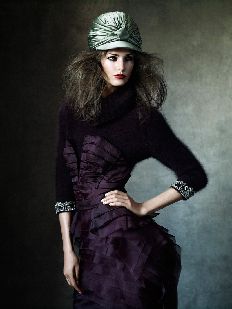 Photo Kendra Spears by Victor Demarchelier for Magazine Antidote Fall/WInter 2013/2014