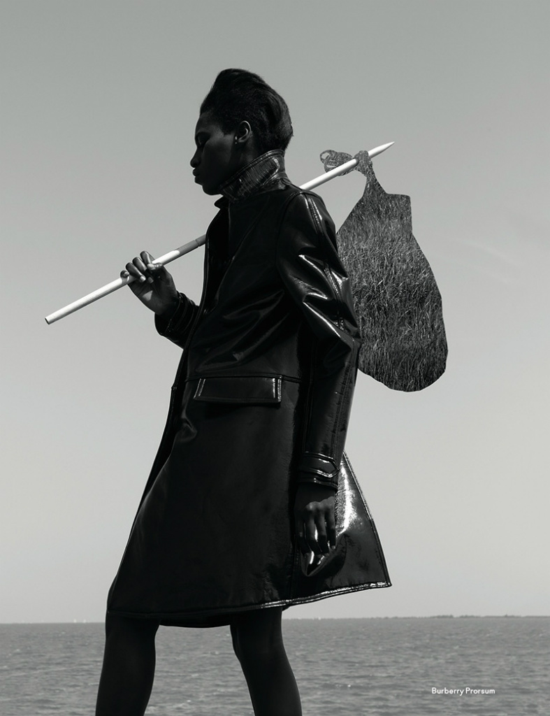 Photo Kinee Diouf by Viviane Sassen for AnOther Magazine Fall/Winter 2013/2014