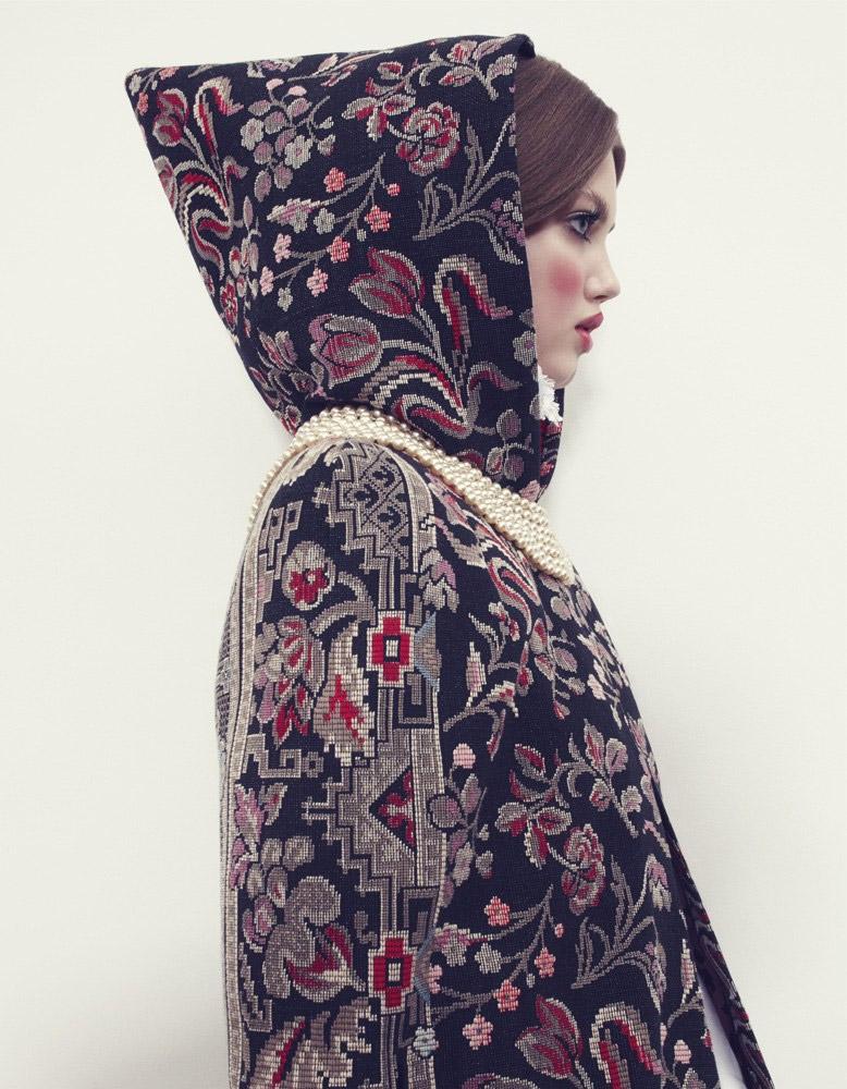 Photo Lindsey Wixson by Emma Summerton for Vogue Japan December 2013