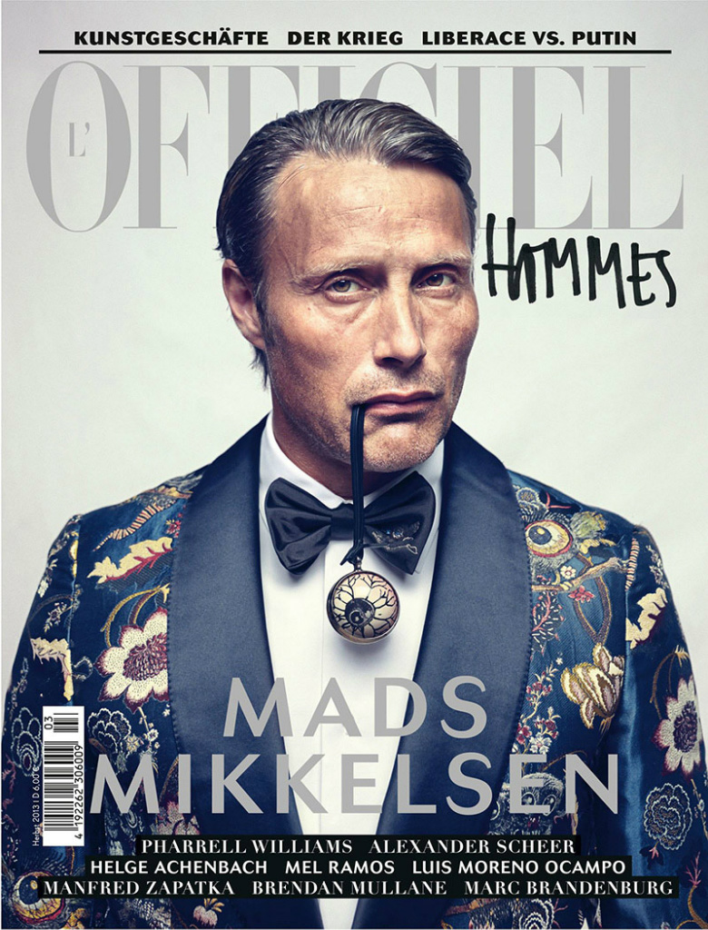 Photo Mads Mikkelsen for LOfficiel Hommes Germany Fall 2013