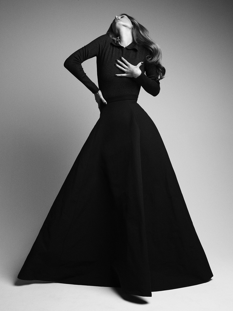 Photo Malgosia Bela by Victor Demarchelier for Magazine Antidote Fall/Winter 2013