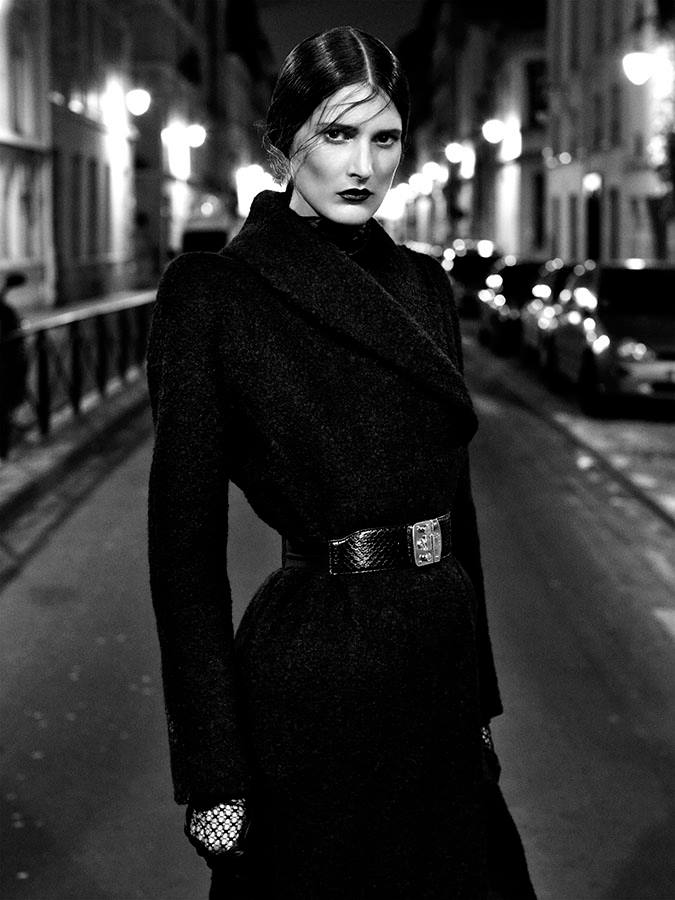 Photo Marie Piovesan by Victor Demarchelier for Magazine Antidote Fall/Winter 2013/2014