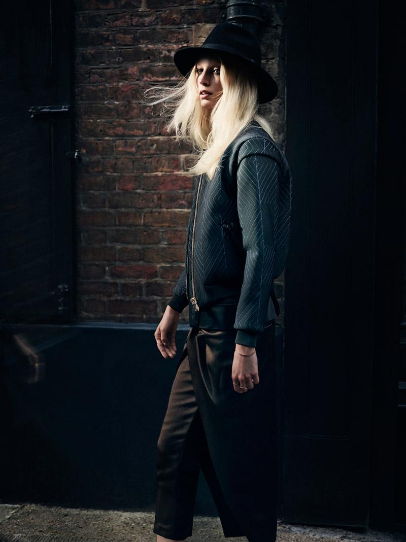 Photo Melissa Tammerijn by Annemarieke van Drimmelen for Vogue Germany October