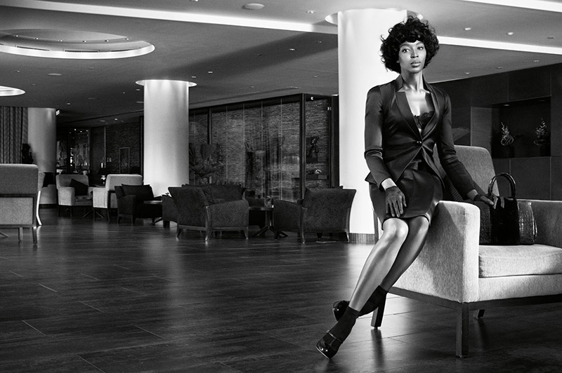 Photo Naomi Campbell by Willy Vanderperre for W Magazine November 2013