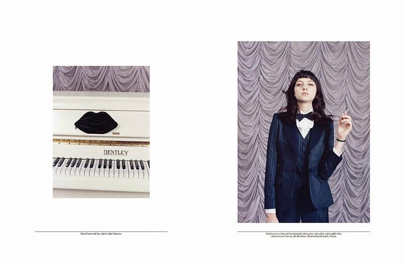 Photo Nastya Kusakina, Sarah Engelland & Frances Coombe for Self Service Fall/Winter 2013