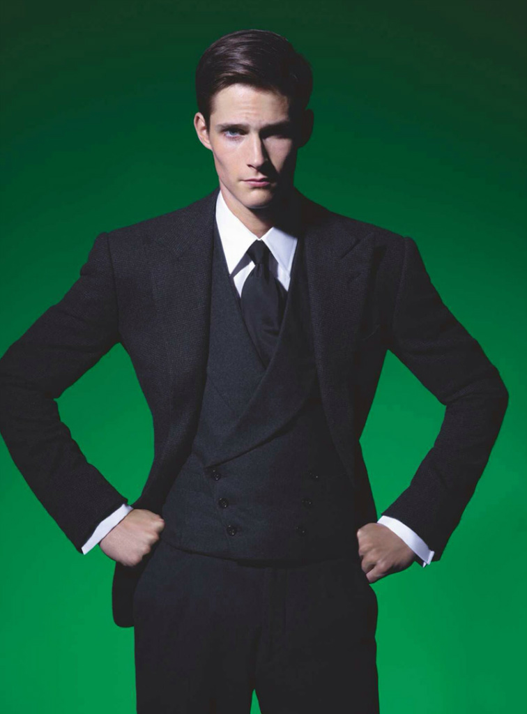 Photo Philip Witts by Karl Lagerfeld for Numero Homme Issue 26