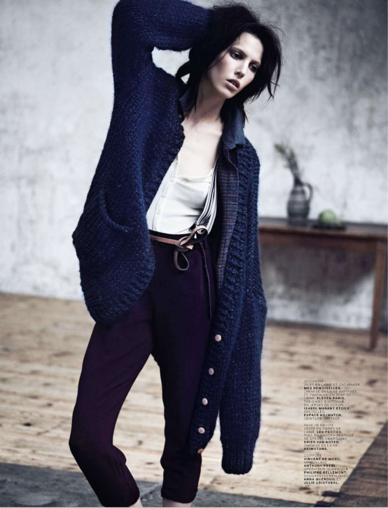 Photo Ruby Aldridge for Jalouse Magazine October 2013 by Stian Foss