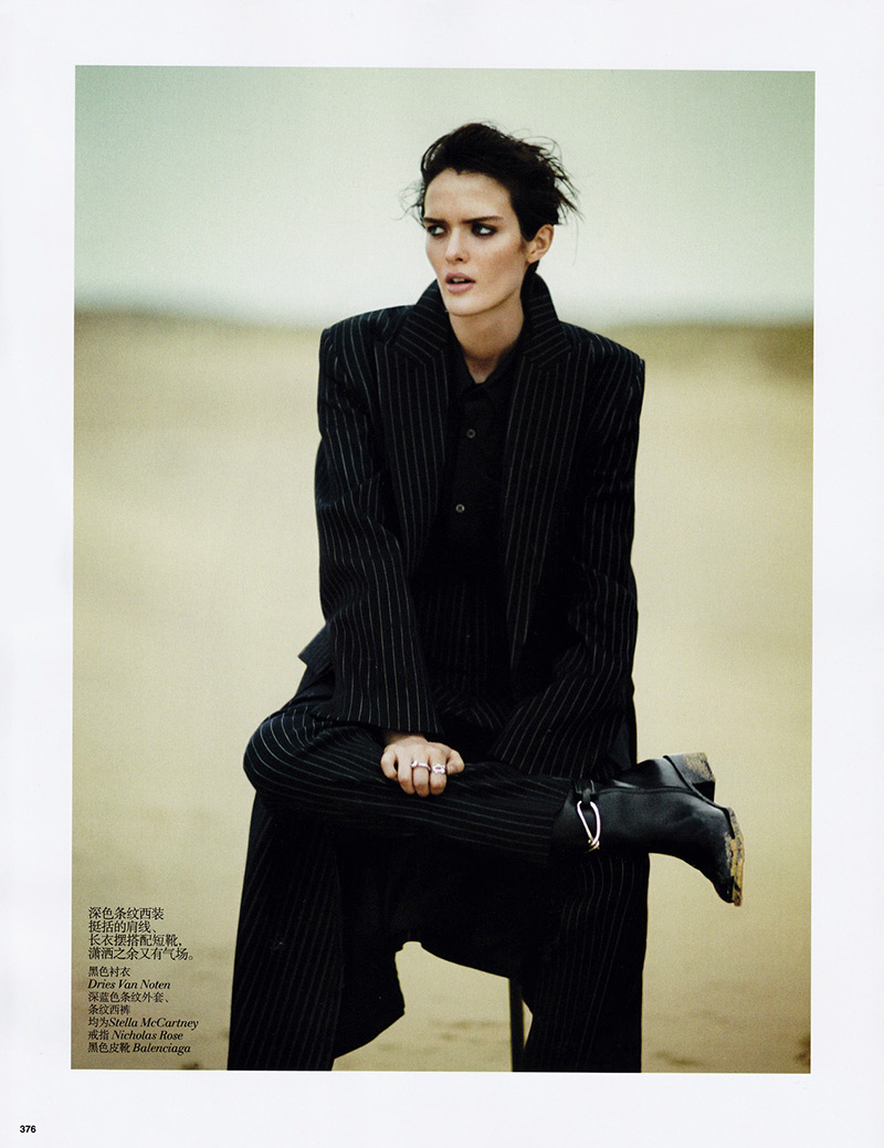 Photo Sam Rollinson by Boo George for Vogue China November 2013
