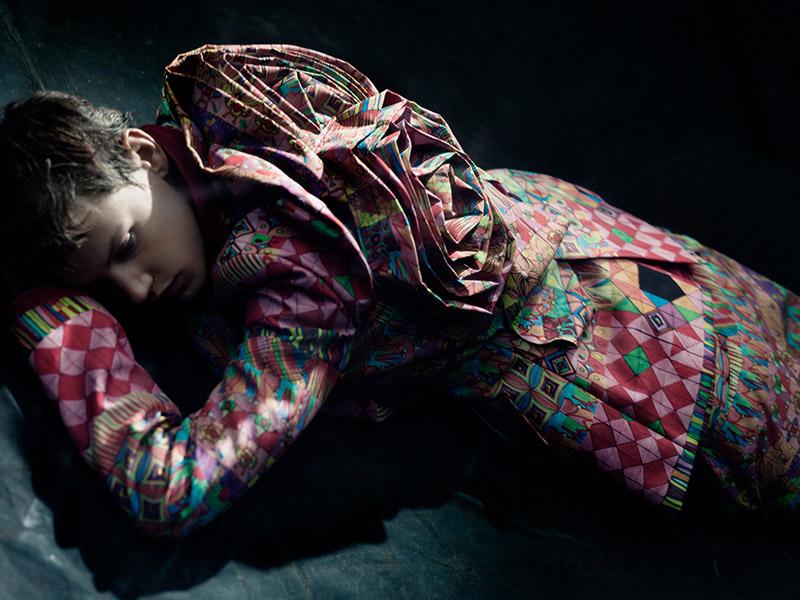 Photo Saskia de Brauw by Paolo Roversi for Purple Fashion Fall 2013