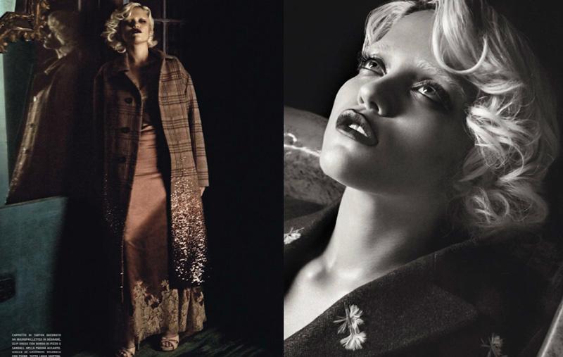 Photo Sky Ferreira by Tom Munro for Vogue Italia October 2013