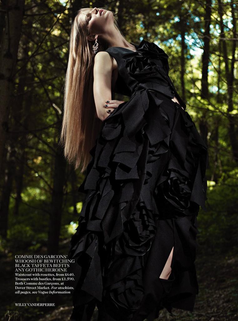 Photo Suvi Koponen for Vogue UK November 2013 by Willy Vanderperre