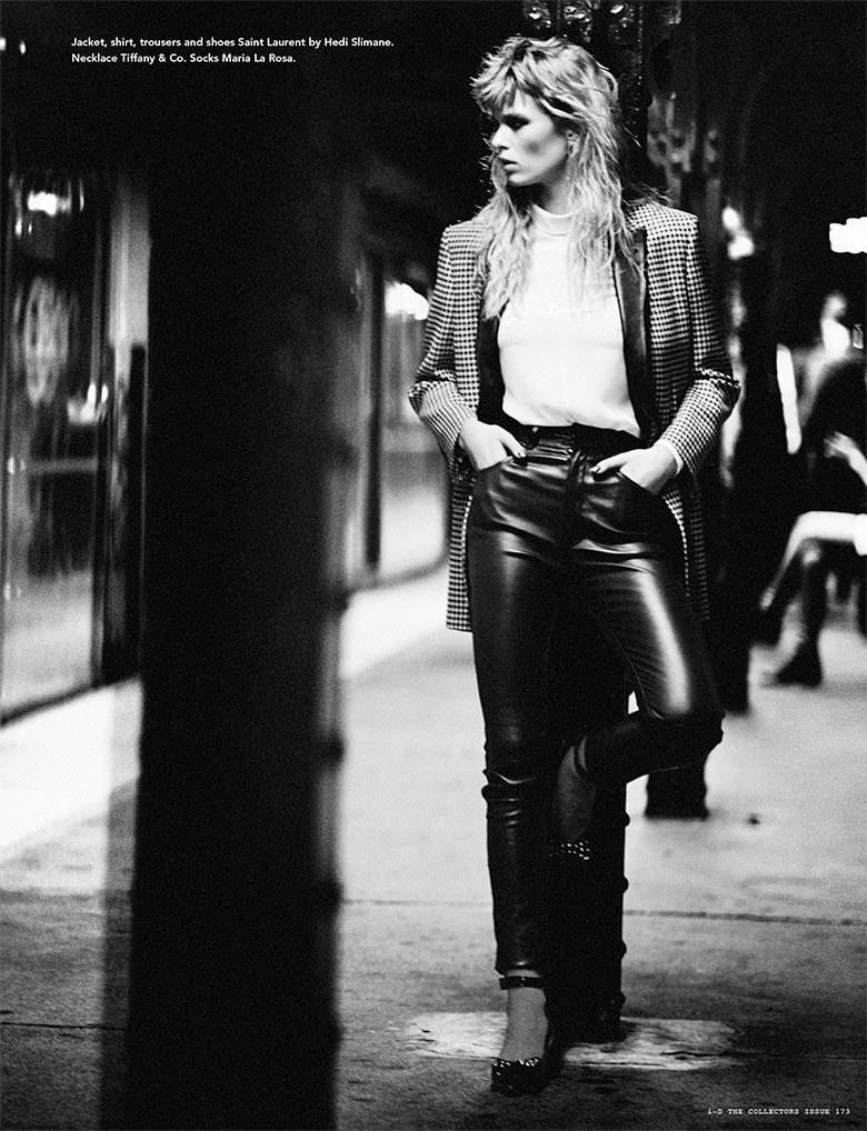 Photo Anna Ewers by Boo George for i D Magazine Winter 2013
