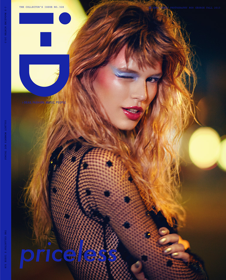 Photo Anna Ewers for i D Magazine Winter 2013 Cover