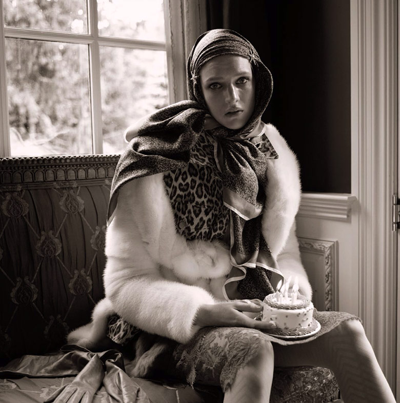 Photo Ashleigh Good by Steven Meisel for Vogue Italia November 2013