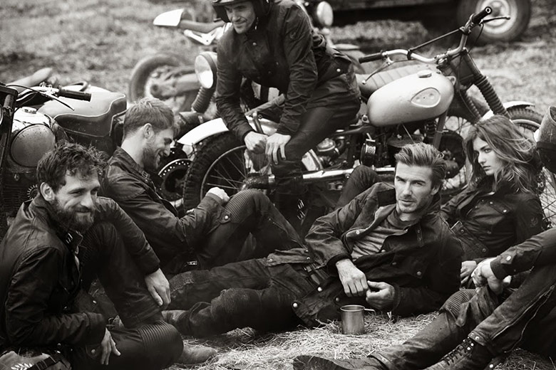 Photo Belstaff Spring/Summer 2014 Campaign
