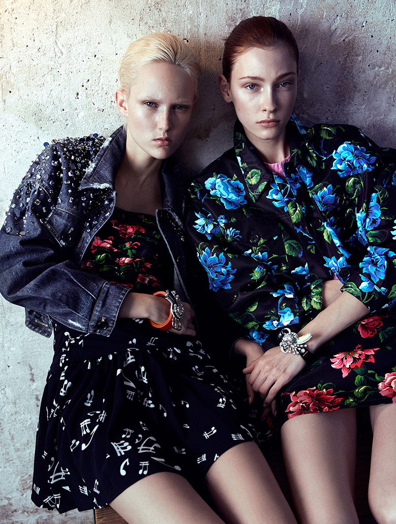 Photo In Bloom by Benjamin Vnuk for CR Fashion Book