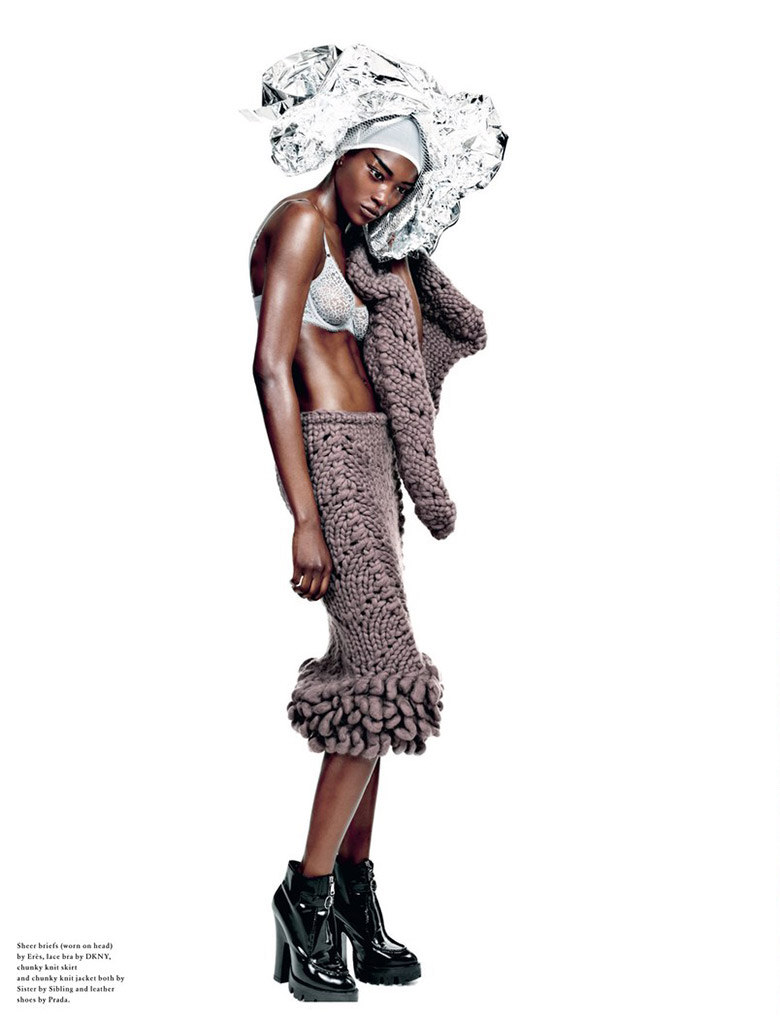 Photo Betty Adewole & Gem Refoufi for Wonderland Winter 2013/2014
