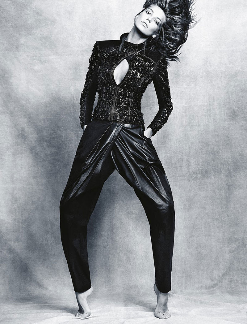 Photo Daria Werbowy for Madame Figaro November 2013