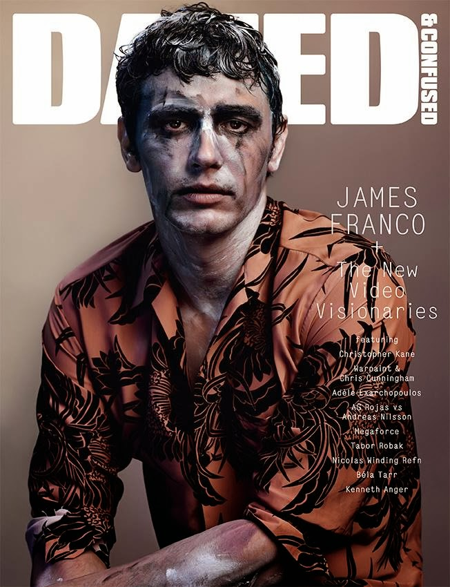 Photo James Franco by Josh Olins for Dazed & Confused December 2013