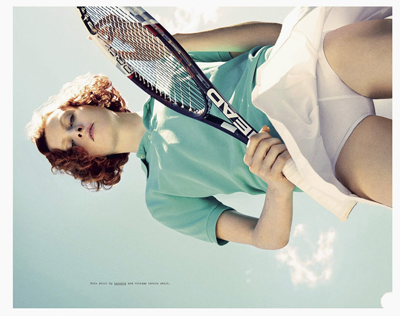 Photo Karen Elson by Theo Wenner for Double Magazine Fall 2013