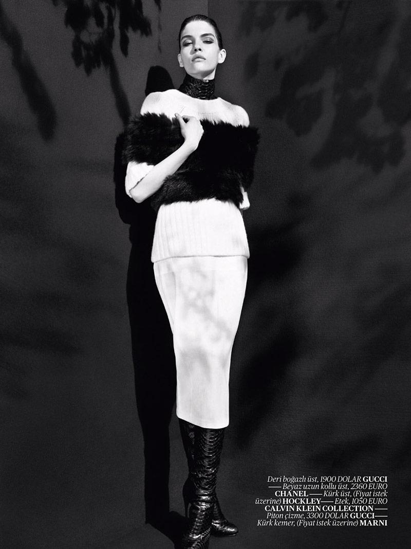 Photo Kate Bogucharskaia for Vogue Turkey November 2013