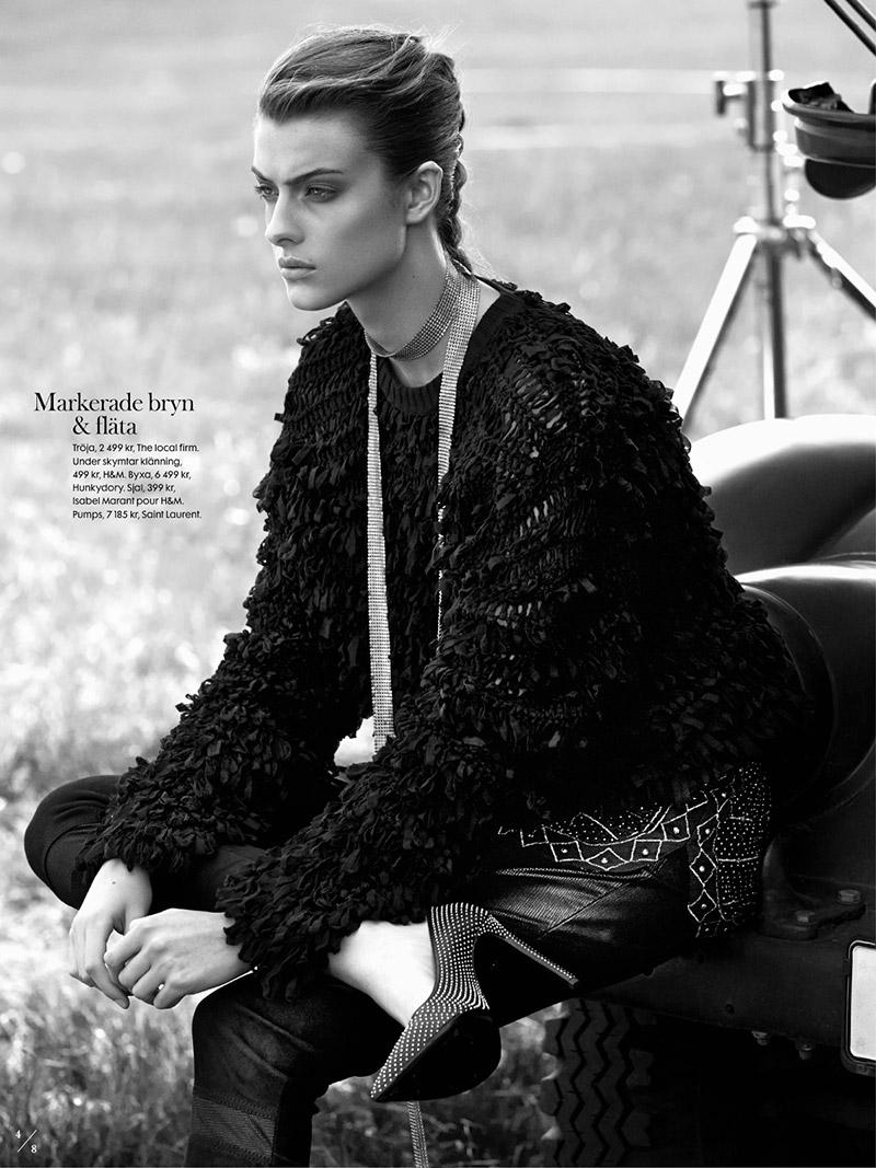Photo Lone Praesto for Elle Sweden November 2013