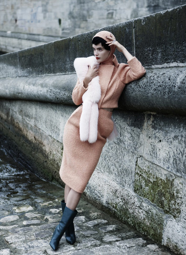 Photo Mirte Maas by Victor Demarchelier for Antidote Magazine