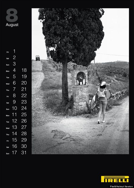 Photo Pirelli Calendar 2014