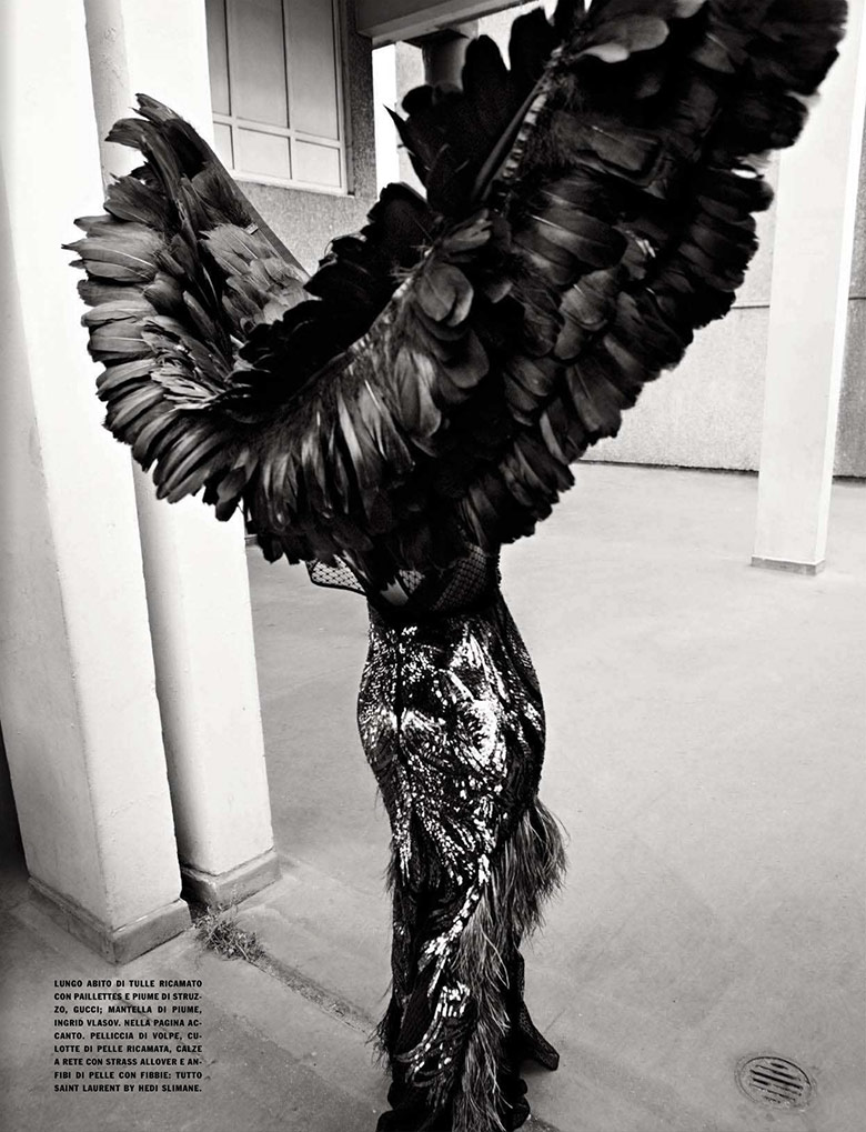 Photo Sam Rollinson by Solve Sundsbo for Vogue Italia November 2013
