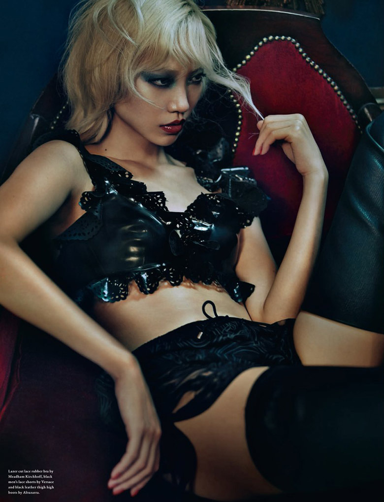Photo Soo Joo by Rory Payne for Wonderland Magazine