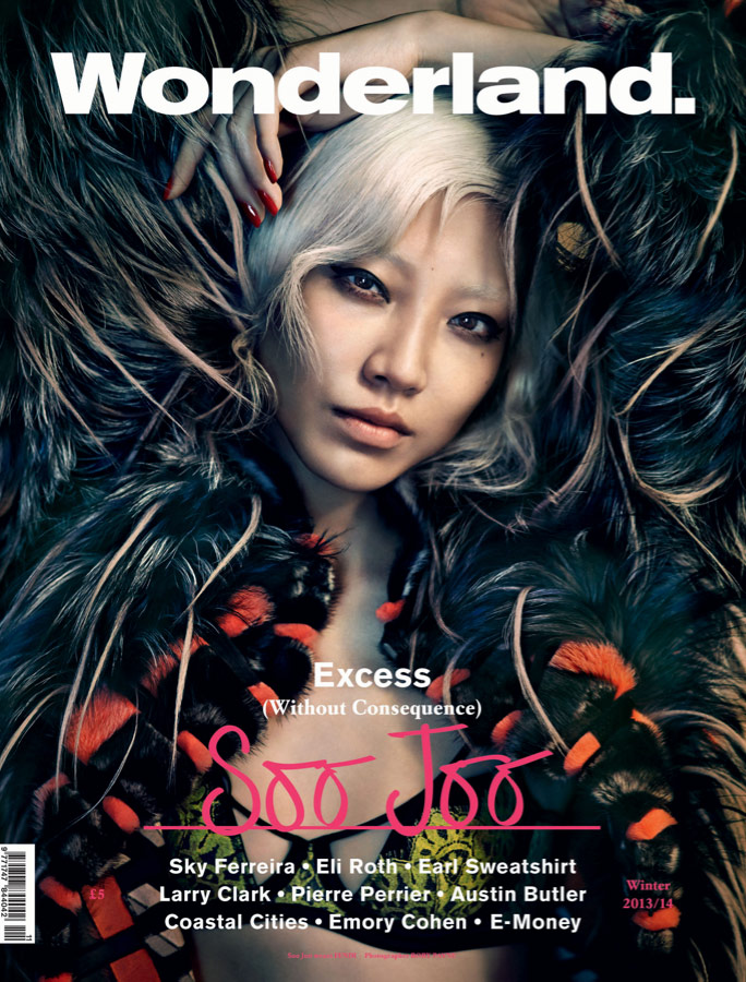 Photo Soo Joo for Wonderland Winter 2013