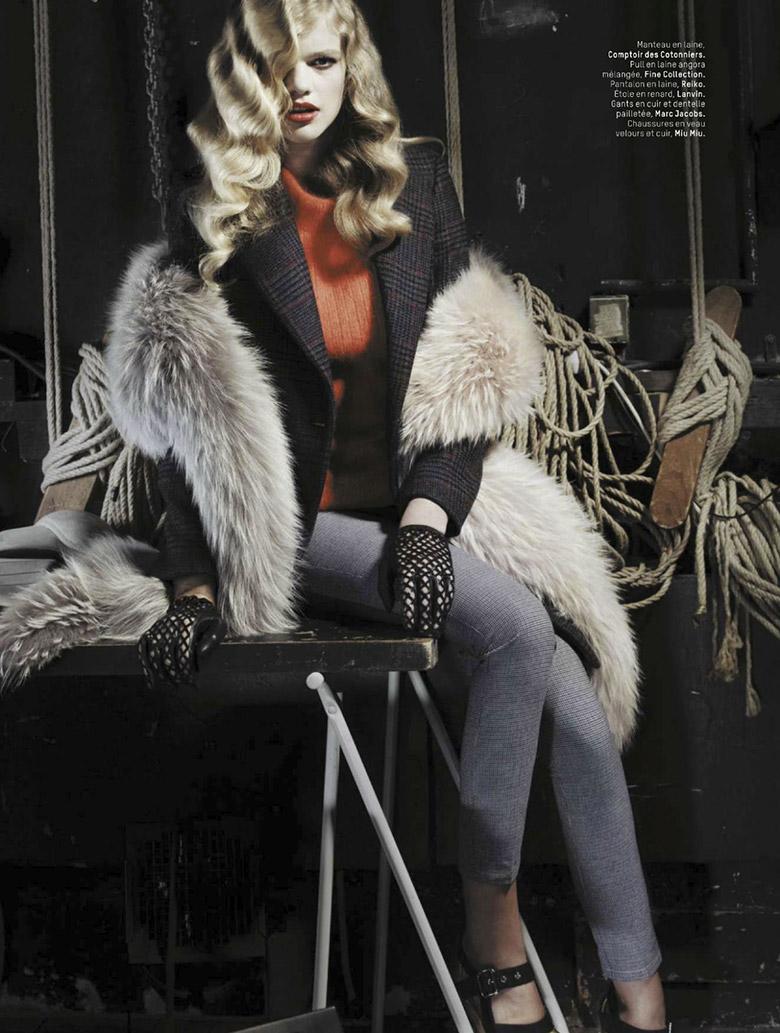 Photo Valerie van der Graaf for L'Officiel Paris November 2013