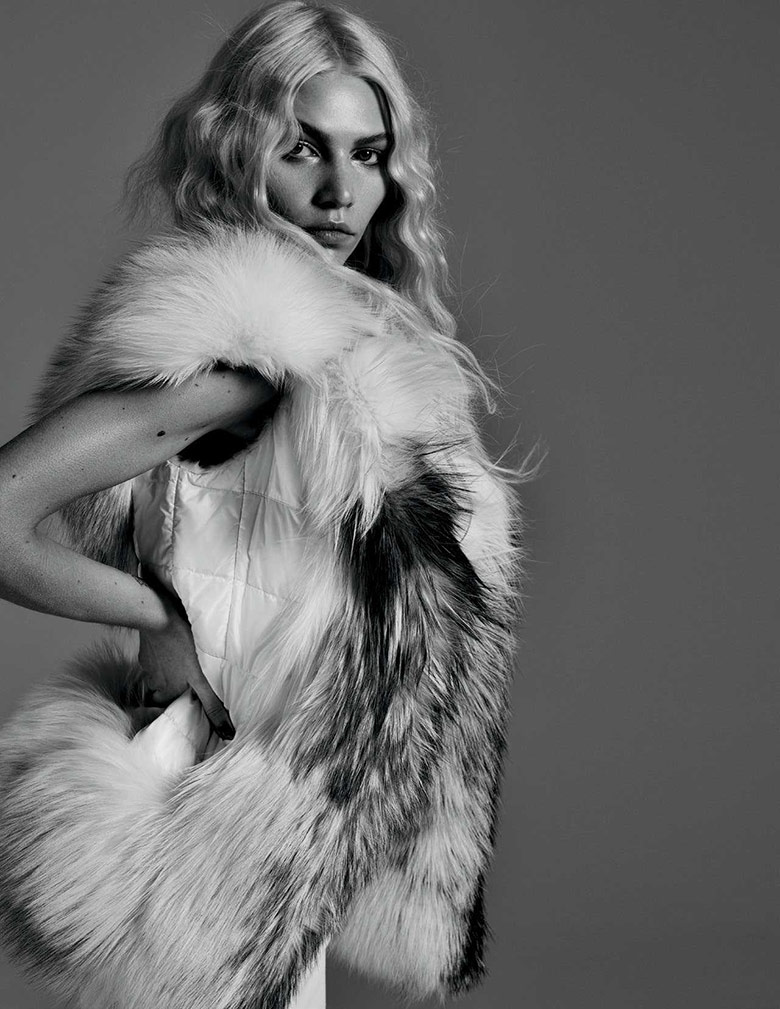 Photo Aline Weber by Tiziano Magni for Schön! Magazine 23
