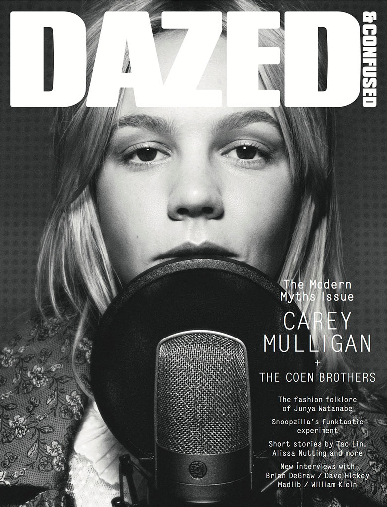 Photo Carey Mulligan for Dazed & Confused January 2014