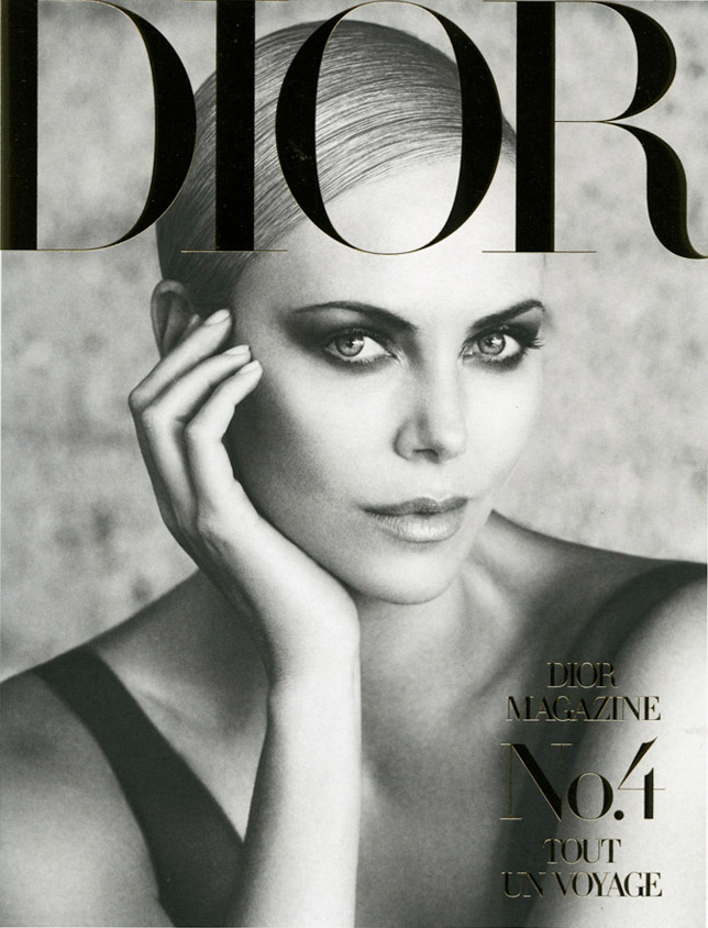 Photo Charlize Theron by Patrick Demarchelier for Dior Magazine