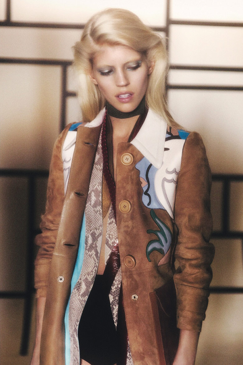 Photo Devon Windsor by Drew Jarrett for Dazed & Confused January 2014