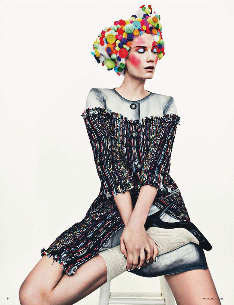 Photo Drake Burnette by Sebastian Kim for Vogue Germany January 2014
