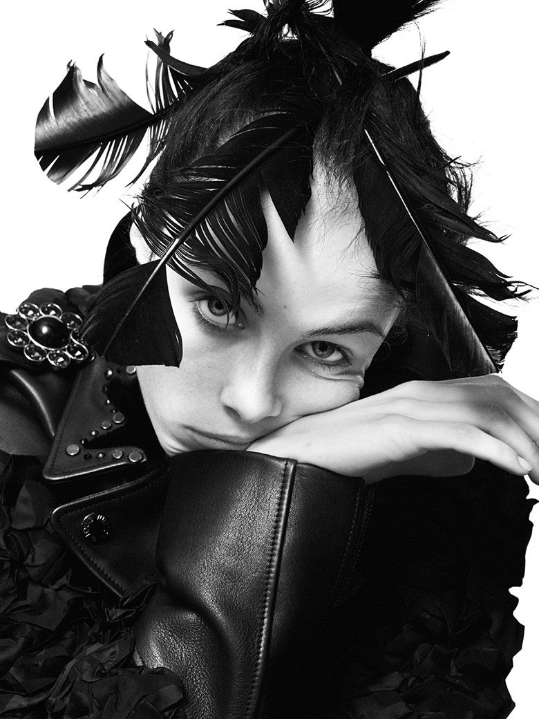 Photo Edie Campbell for Vogue Paris December/January 2013/2014