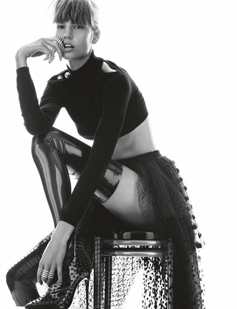 Photo Elisabeth Erm by Greg Kadel for Numero Issue 149