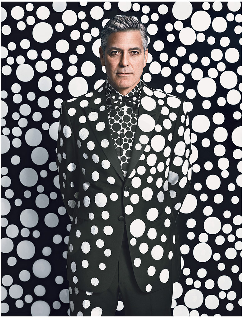 Photo George Clooney by Emma Summerton for W Magazine December/January 13/14