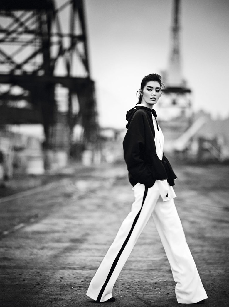 Photo Ming Xi by Boo George for Vogue China January 2014